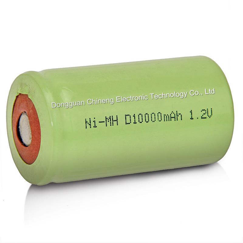 1.2v1000mah工业电池