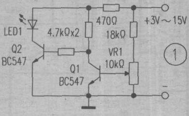 9014单管收音机电路图