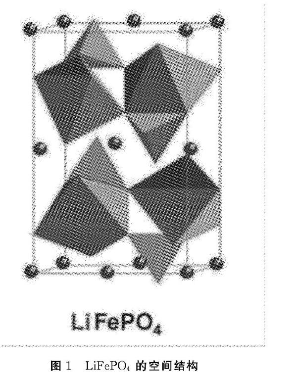 空间结构如图1所示,其理论比容量为170mahh