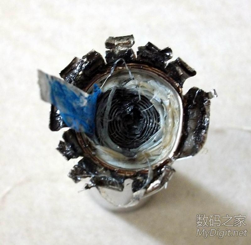 18650锂电池内部结构之拆卸篇