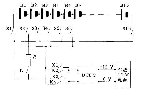 电池均衡模块电路原理