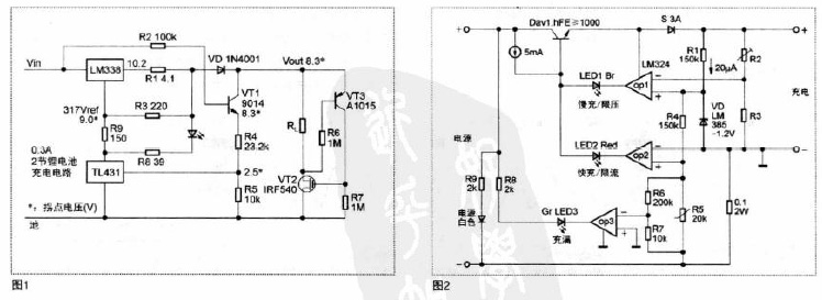 简单可靠的锂电池充电方案(电路图)